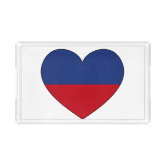 Haiti Flag Heart