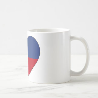 Haiti Flag Heart Coffee Mug