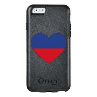 Haiti Flag Heart OtterBox iPhone 6/6s Case