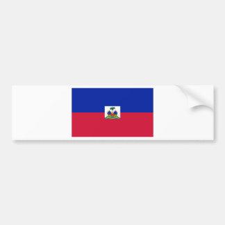 Haiti Flag HT Bumper Sticker