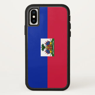 Haiti Flag iPhone X Case