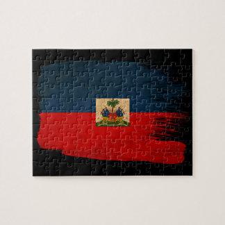 Haiti Flag Jigsaw Puzzle