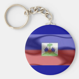 haiti flag key chain