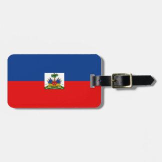 Haiti flag bag tags