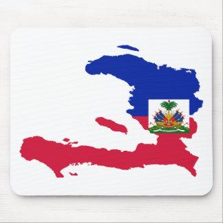 Haiti Flag Map HT Mousemats