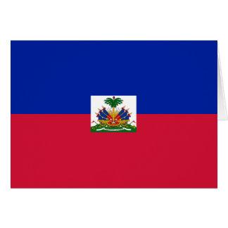 Haiti Flag Note Card