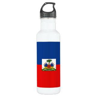 Haiti Flag 710 Ml Water Bottle