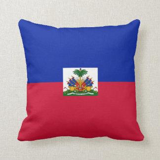 Haiti Flag pillow