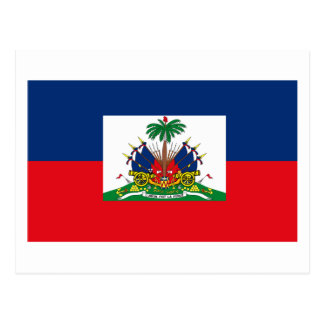 Haiti Flag Postcard