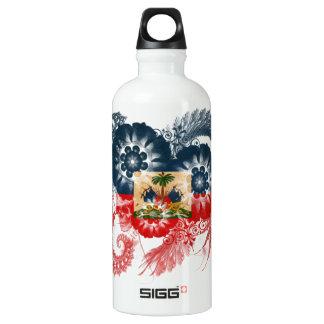 Haiti Flag SIGG Traveller 0.6L Water Bottle