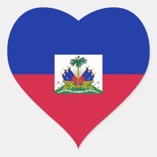 HAITI HEART STICKER