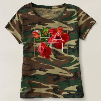 Haiti Hibiscus floral T-Shirt
