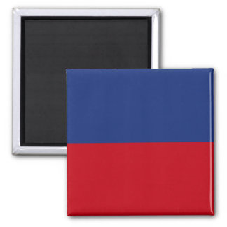 Haiti High quality Flag Square Magnet