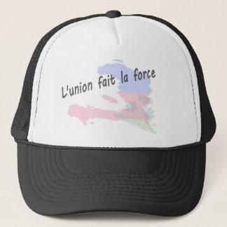 Haiti - L'union fait la force Trucker Hat