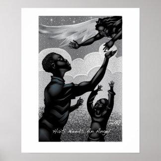 Haiti Needs An Angel Poster