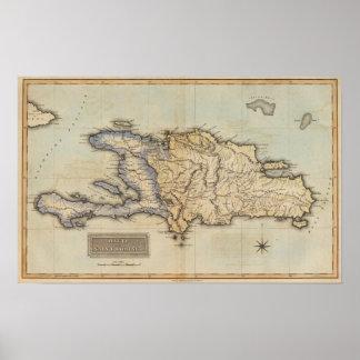 Haiti or Saint Domingo Poster