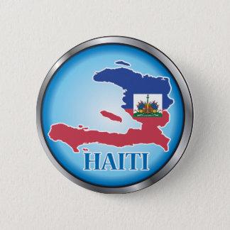 Haiti Round Button.ai 6 Cm Round Badge
