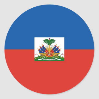 Haiti Round Sticker
