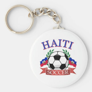 Haiti soccer ball designs keychains