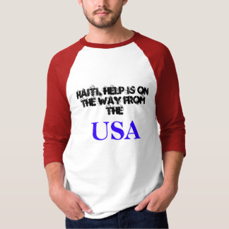 Haiti, USA message T-Shirt