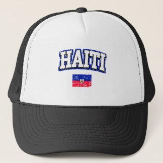 Haiti Vintage Flag Trucker Hat