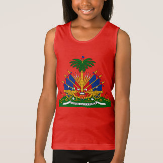 Haitian - coat of arms Tank Top