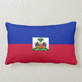 Haitian flag pillow