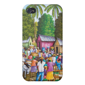 Haitian Market Place Covers For iPhone 4