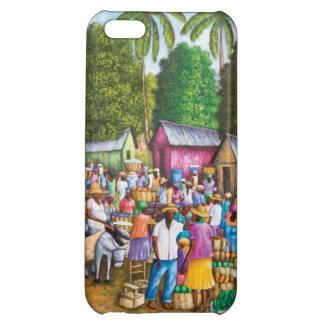 Haitian Market Place Print iPhone 5C Cover