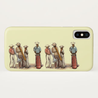 Haitian Street Musicians iPhone X Case
