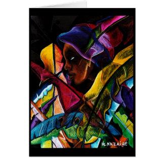 Haitienne en Vitraux 1 Card