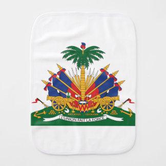 Haiti's Coat of arms Burp Cloth