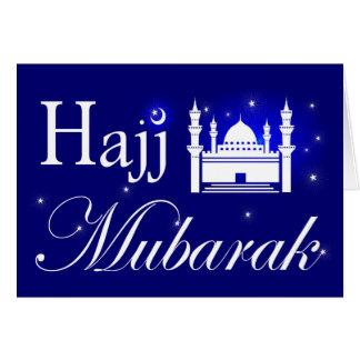 Hajj Mubarak, Congratulations on Hajj Pilgrimage Card
