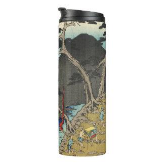Hakone, Japan: Vintage Woodblock Print Thermal Tumbler