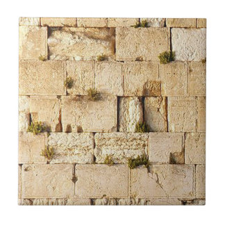 HaKotel - The Western Wall Small Square Tile