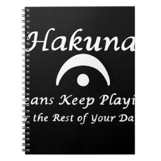 Hakuna Fermata Notebooks