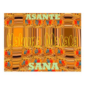 Hakuna Matata Asante Sana Thank You very Much Postcard