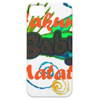 Hakuna Matata Baby.png Case For The iPhone 5