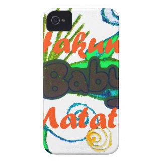 Hakuna Matata Baby.png Case-Mate iPhone 4 Case