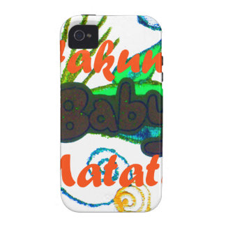 Hakuna Matata Baby.png Case-Mate iPhone 4 Cover