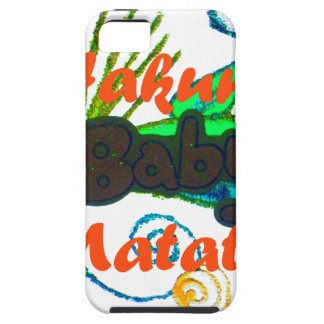 Hakuna Matata Baby.png iPhone 5 Covers