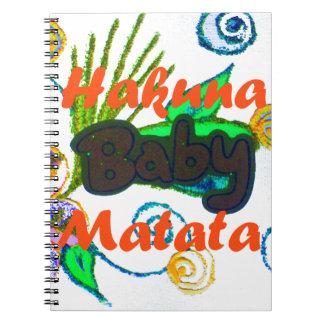 Hakuna Matata Baby.png Note Books