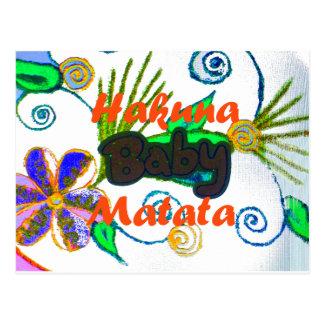 Hakuna Matata Baby.png Postcard