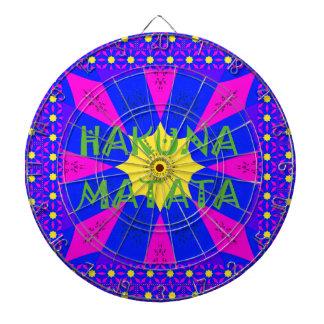 Hakuna Matata Beautiful Amazing Design Colors Dartboard