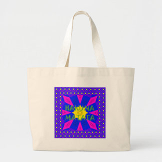 Hakuna Matata Beautiful Amazing Design Colors Large Tote Bag