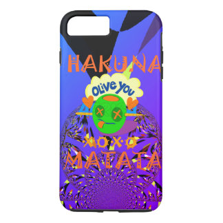Hakuna Matata cute nice and lovely funny love iPhone 8 Plus/7 Plus Case