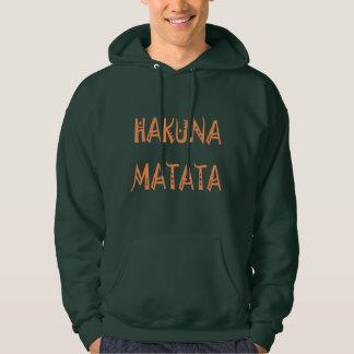 Hakuna Matata Gifts Apparel Men's Basic Hoodie