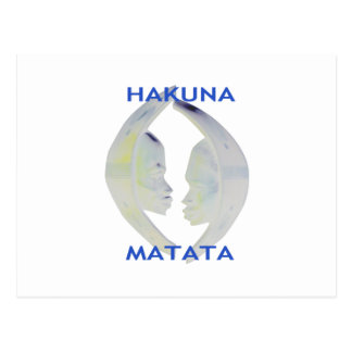 Hakuna Matata Gifts Save that perfect date Postcard