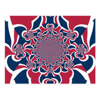 Hakuna Matata Gifts trendy stylish red and blue jp Post Cards