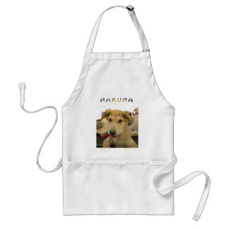 Hakuna Matata I know what you are thinking pinctur Standard Apron